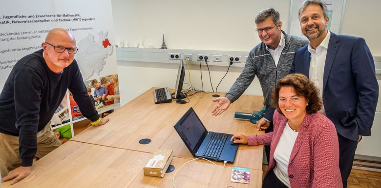 Kerstin Vieregge unterstützt Calliope-Projekt für Lippe